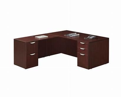 Desk Return Classic Computer Pedestal Reversible Executive