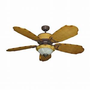 Fresh tropical ceiling fans with lights for nautical