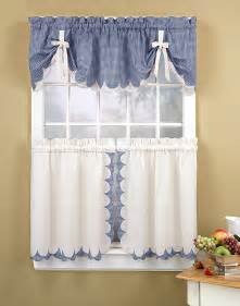 Kitchen Valance Curtains by Kitchen Curtains 3 Kitchen Curtain Tier