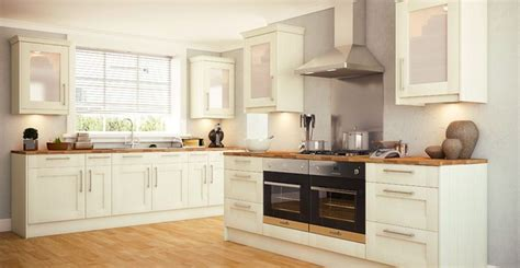 Great Kitchen European Style Redesign by Wren Kitchens With Its Lovely Warm Finish And Simple