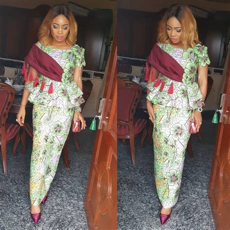 check out this beautiful ankara skirt and blouse styles
