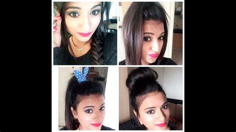 easy hairstyles  thin hair youtube