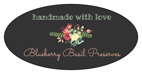 floral oval jar labels label templates ol onlinelabelscom