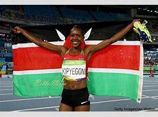 #Rio2016 Faith Kipyegon Grabs 3rd Gold for Kenya after