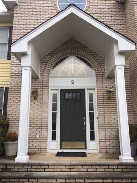 front entrance column replacement monks home improvements