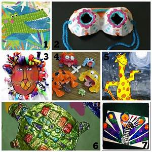 Cool Art Projects {Summer Time Fun for Kids} - Refunk My Junk