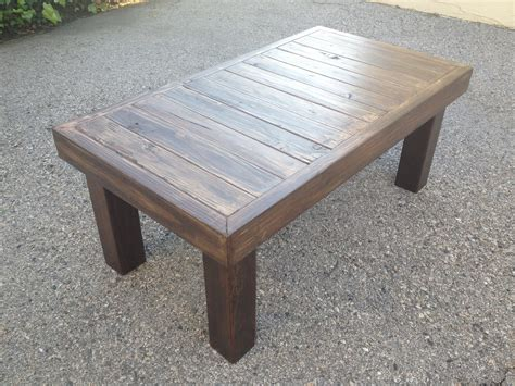 Best Collection Of Outdoor Coffee Table Plans
