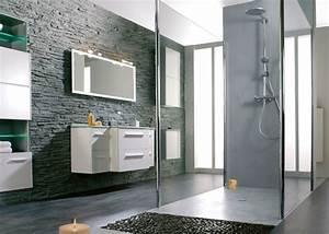 mur salle de bain regles de base sur le mur salle de bain With porte d entrée pvc avec meuble salle de bain deux vasques leroy merlin