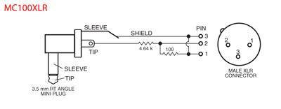 Phantom Power Xlr Wiring Diagram by Mc100xlr Lectrosonics Europe