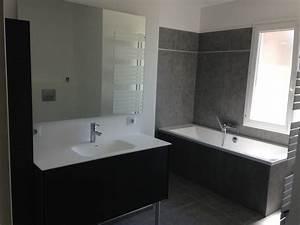 Ambiance Salle De Bain : sdb blanc et gris entreprise salle de bain n mes ~ Melissatoandfro.com Idées de Décoration