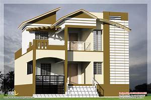 3 bedroom South Indian house design