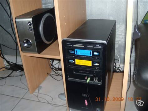hp bureau troc echange pc de bureau hp a6550fr sur troc com