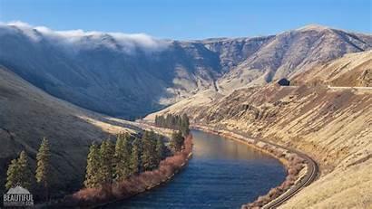 Yakima Canyon River Scenic Road Washington Fall