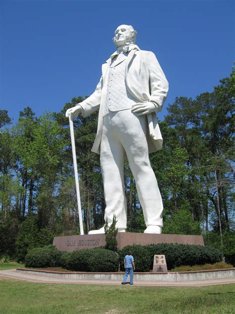 Sam Houston Huntsville Texas