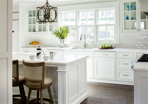 mt kisco classic white family kitchen