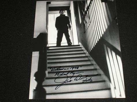 jim winburn signed  photo michael myers  halloween