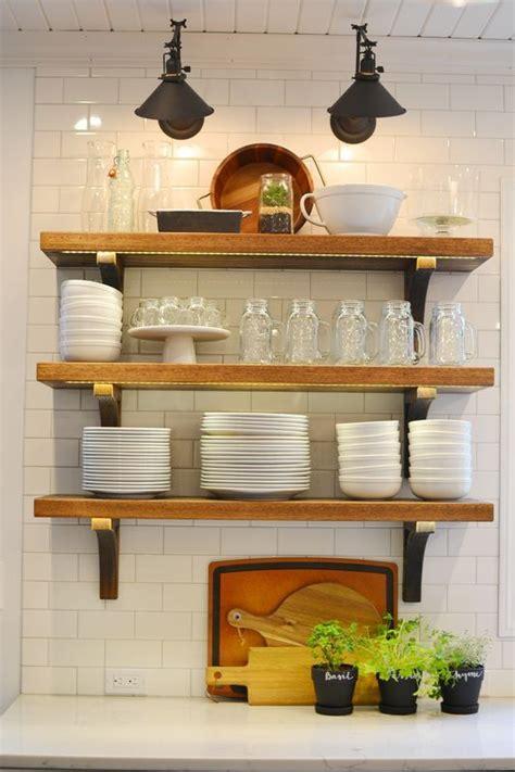 country style kitchen shelves best 25 white farmhouse kitchens ideas on 6221