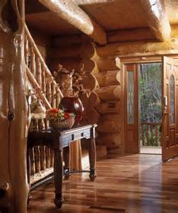Beautiful Log Cabin Homes Interior