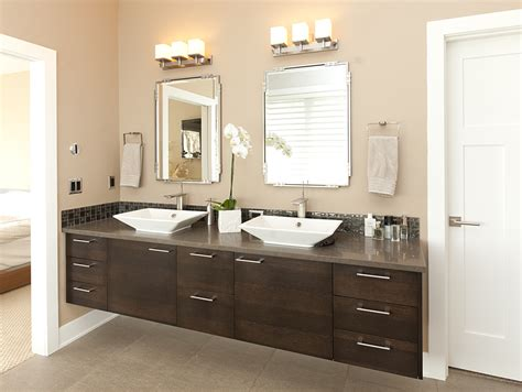 Modern Master Bathroom Vanities by Contemporary Master Bathroom