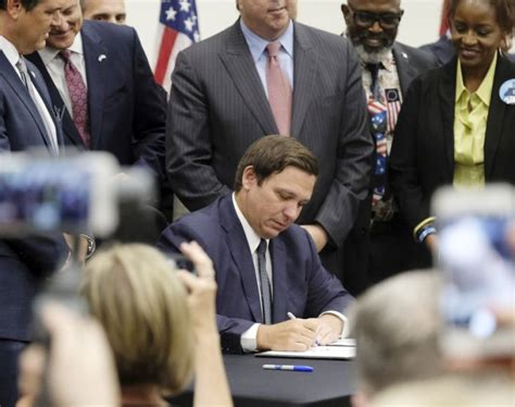 Florida governor signs bill banning sanctuary policies