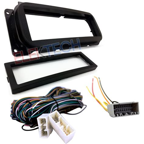 Radio Replacement Dash Kit Amplifier Bypass Wire Harness