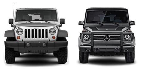 G Wagon Vs Jeep by Jeep Knowledge Center Auto Site Compares Jeep Wrangler