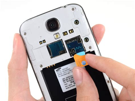 replacing samsung galaxy  sim card ifixit repair guide