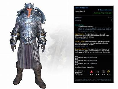 Paladin Oathbound Neverwinter Pack Booster Squire Dedicated