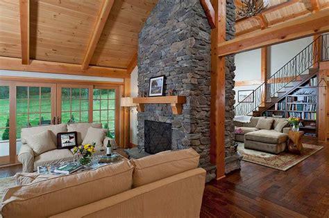 beautiful timber frame great rooms  davis frame company