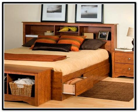 queen size bookcase queen size storage bed plus bookcase headboard home
