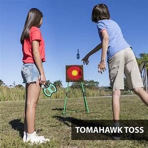 Safety Tomahawk Axe Hatchet Throwing Target Game