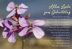 Schöne Bilder Geburtstag : sch ne geburtstagskarte alles liebe zum geburtstag blume lila doppelkarten ~ Eleganceandgraceweddings.com Haus und Dekorationen