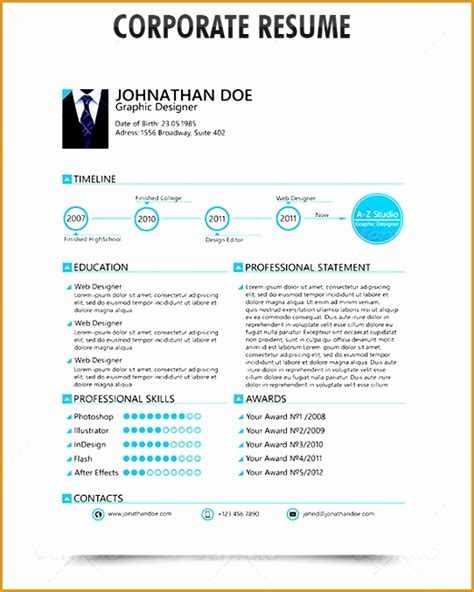 Professional Resume Styles by 8 Professional Resume Templates Free Sles Exles