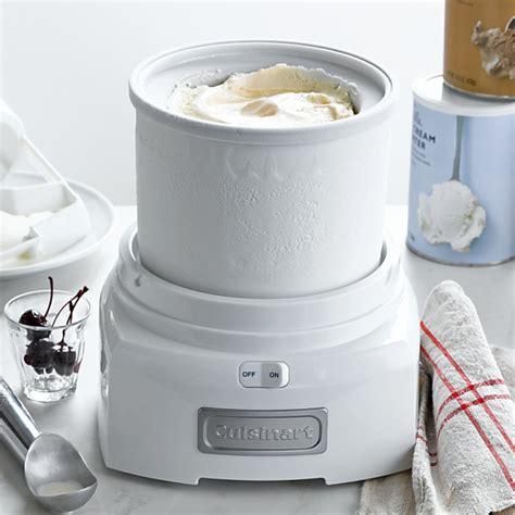 litres cuisinart ice cream maker snow white