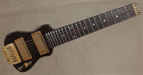 Lapaxe Deluxe Best Electric Travel Guitar Lap Axe
