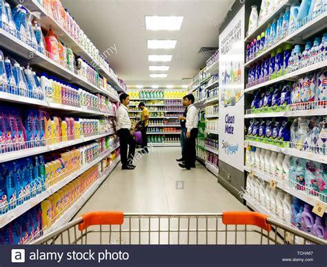 supermarket displays stock  supermarket displays