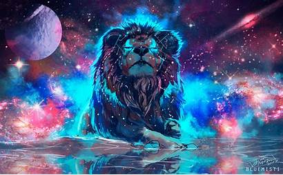 4k Lion Colorful Artistic Resolution Wallpapers Backgrounds