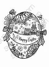 Easter Coloring Mandala Sh Mandalas Printables Cart sketch template