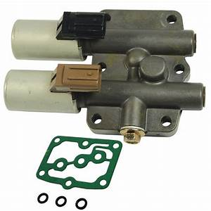 Dual Linear Shift Solenoid Transmission With Gasket For 1998 Honda Acura New 686494028609