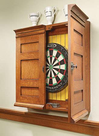 dart board cabinet dartboard cabinet woodsmith plans