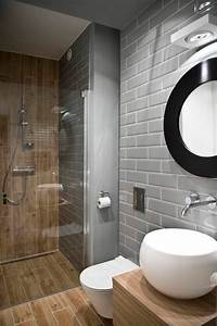 Exemple Petite Salle De Bain : exemple de petite salle de bain 1 comment am233nager ~ Dailycaller-alerts.com Idées de Décoration