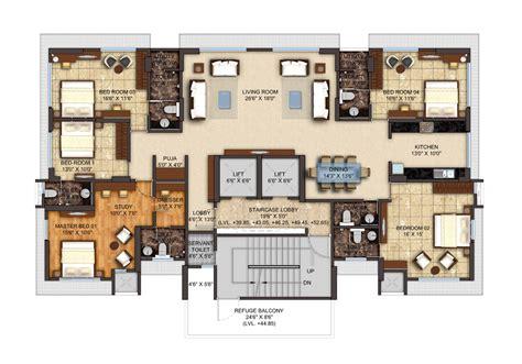 Luxury Apartment Plans by Home Design Plan Large Luxury Apartment Floor Plans