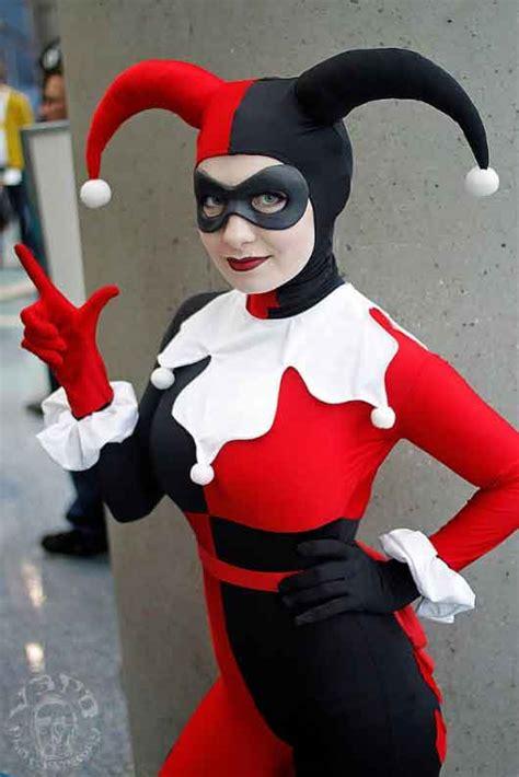 Suicide Squad Harley Quinn Jester Costume Celebrity