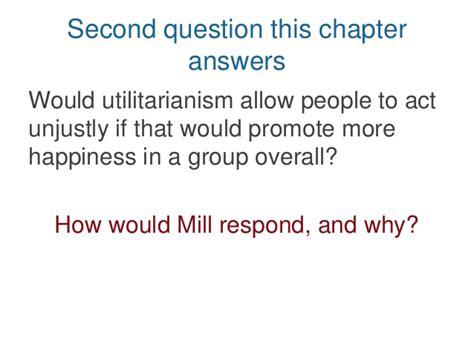 Js Mill's Utilitarianism