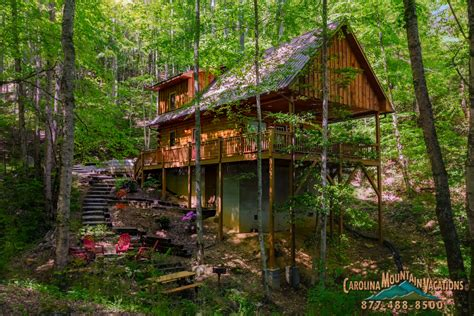 Mountain Cabin Vacation Rentals by Appalachain Escape Nc Smoky Mountain 2 Bedroom Vacation