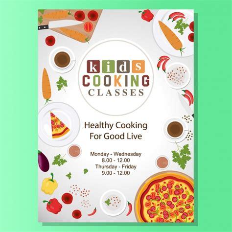 l ecole de cuisine de gratuit cours de cuisine conception de l 39 affiche télécharger des