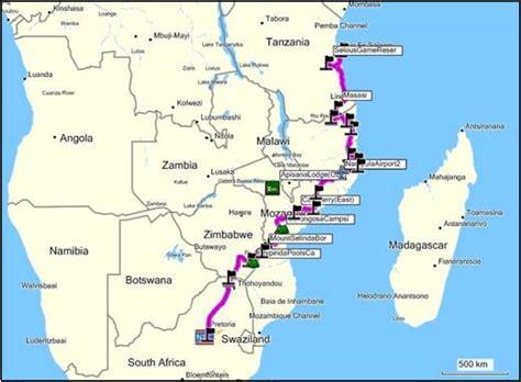 overland  tanzania  johannesburg