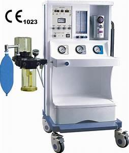 China Medical Equipment Anesthesia Machine With Ventilator