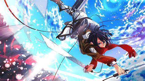 mikasa ackerman attack  titan shingeki  kyojin