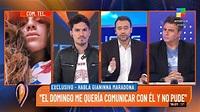 América TV - 🗣️ Giannina Maradona en Intrusos en el...